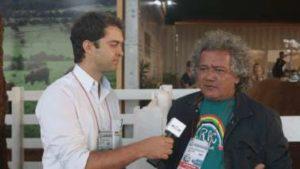 Rafael Telles e Antonio Anderson Chaves na Agrishow