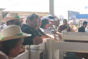 Stand do Senepol da Barra lotou durante a Agrishow