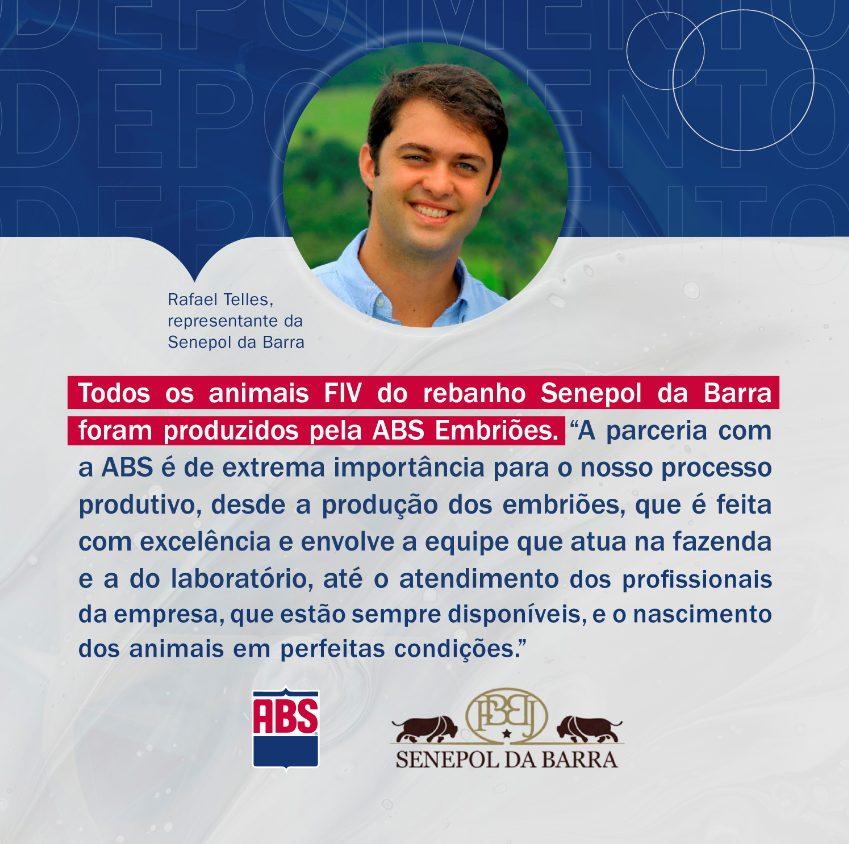 Rafael Telles fala sobre a ABS Embriões