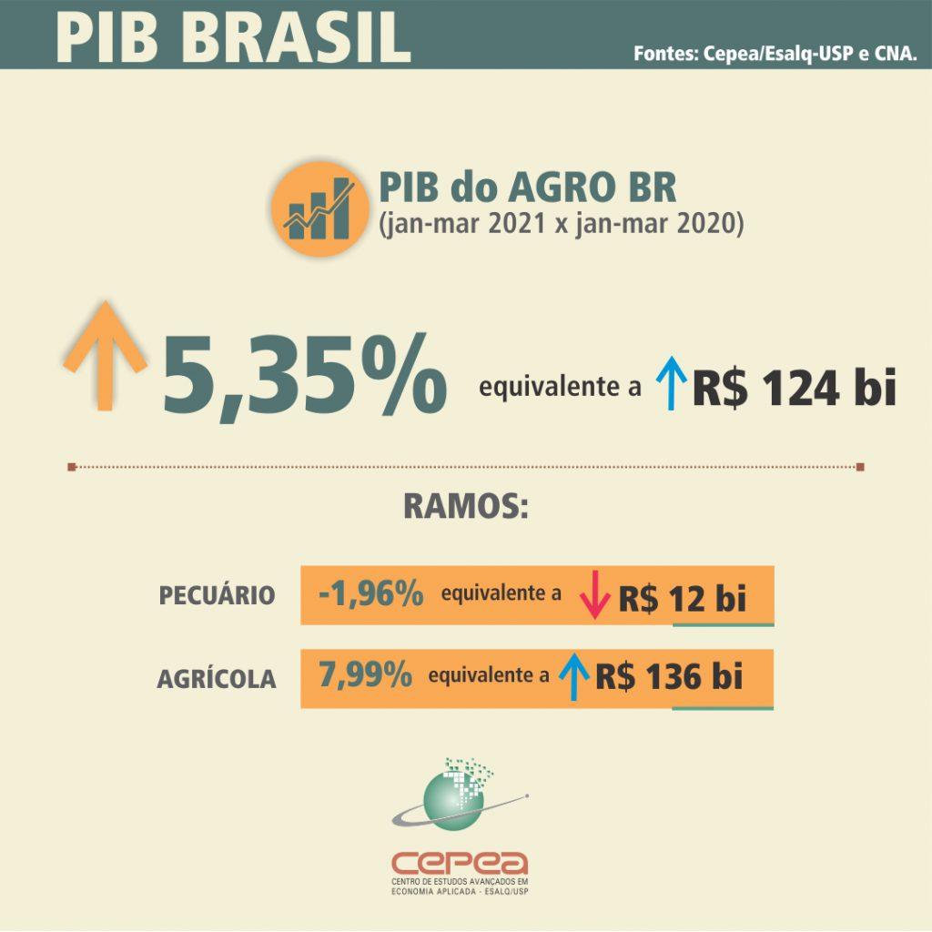 PIB Agro Brasil 2021